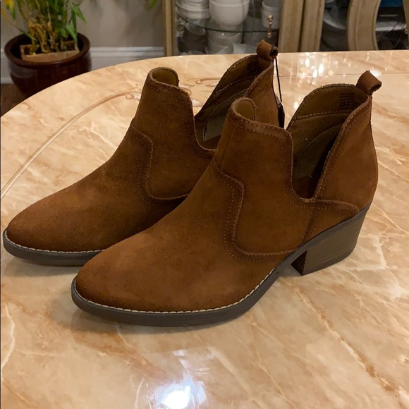 683d5e5e1df Sonoma Shoes | Ankle Booties Women Suede Booties | Poshmark